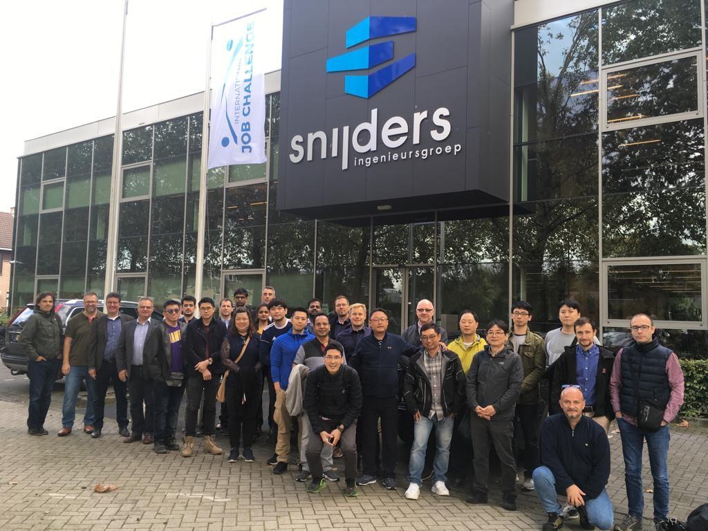 Trimble bezoekt Snijders Ingenieursgroep tijdens de jaarlijkse precast study trip